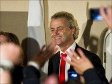 Dutch right-wing politician Geert Wilders