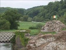 Site of obelisk