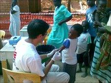 Dr Neil Stone in Malawi