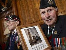 St Valery veterans. Pic: Courtesy of Highland Council