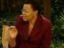 International campaigner Graca Machel