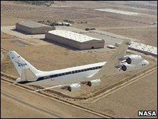 Nasa DC-8 airborne laboratory