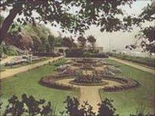 Felixstowe Seafront Gardens in the 1900s