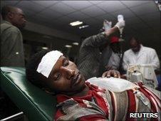 Victim of Nairobi blast, 13 June
