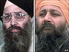 Defendants Ripudaman Singh Malik (left) and Ajaib Singh Bagri