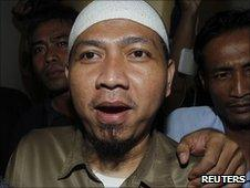 Amir Abdillah in court in Jakarta, Indonesia (14 June 2010)
