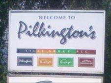 Pilkington's Tiles sign