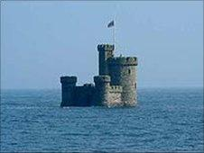 Tower of Refuge - picture courtesy of the Isle of Man government