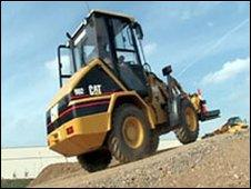 The company distributes Catepillar construction equipment