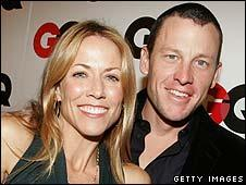 Sheryl Crow with Lance Armstrong, 2005