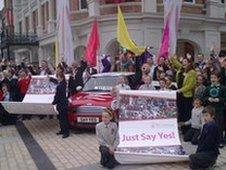 The bid got a great send off from the City of Culture office in Derry in May