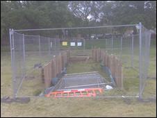 Hole in Bruntsfield Links