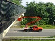 Structural inspection vehicle