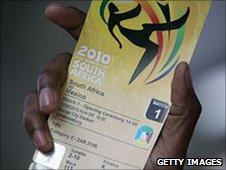 World Cup ticket