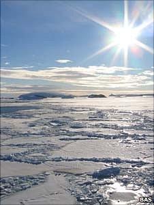 Pine Island Glacier (Image: BAS)