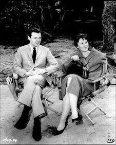 Harper Lee and Alan Pakula