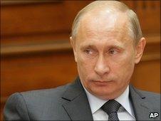 Russian PM Vladimir Putin. Photo: 18 June 2010
