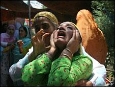 Protests against the death of a young man in Srinagar on 20 June 2010