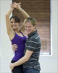 Christine Bleakley and dance partner Matthew Cutler