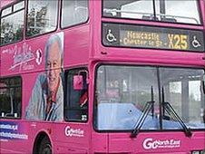 Sir Bobby Robson bus