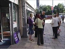 Librarians on strike in Southampton
