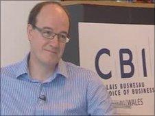 David Rosser, director of CBI Wales