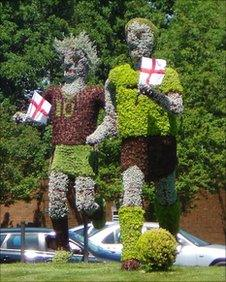 The footballing figures in Coventry