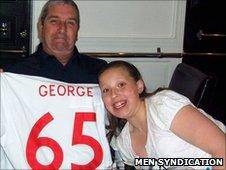 George Walker and his granddaughter Bethany