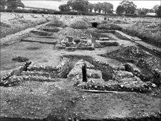 The Yewden Villa at Hambleden was excavated in 1912