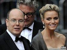 Prince Albert and Charlene Wittstock in Stockholm, June 18 2010