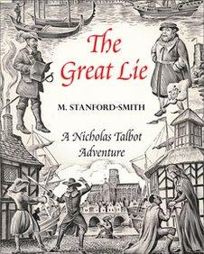 The cover of the first novel