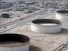 Iran's Badr Abbas oil refinery - 2004