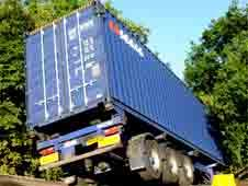 A14 lorry crash