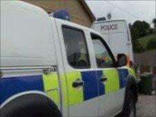 Police drugs raid in Pontardawe on 30 June 2009