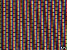 Close-up of TV screen, SPL
