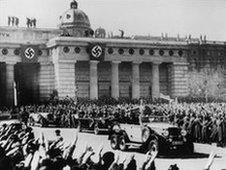 Hitler in Vienna, 1938