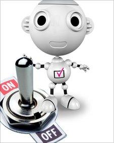 The Digital Switchover robot