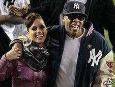 Alicia Keys and Jay-Z