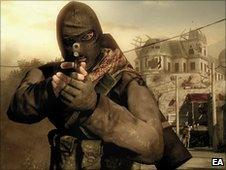 Screenshot from Medal of Honor, EA