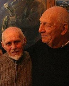 Jan Wroblewski (l) and Dave Burman (r)