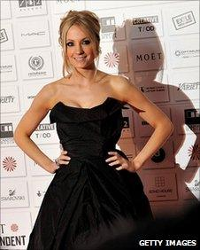 Joanne Froggatt on the red carpet at the Moet British Independent Film Awards