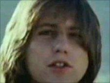 Greg Lake in I Believe In Father Christmas video