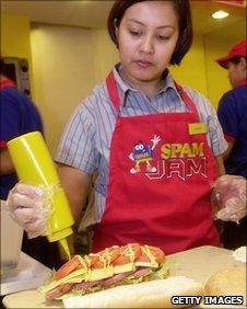 Spam hero - Philippines