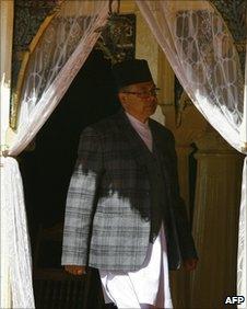 Nepali PM Jhalanath Khanal