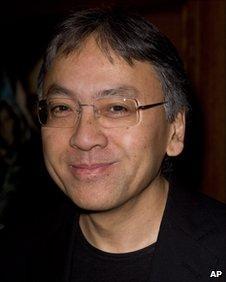 Kazuo Ishiguro arrives for the Evening Standard British Film Awards