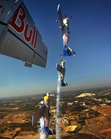 Flying Bulls in action at Bangalore