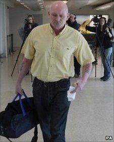Garry Mann at Heathrow