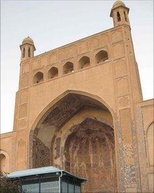 Shrine of Khwaja Abdullah Ansari in Herat