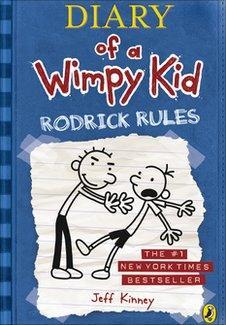 Wimpy Kid book jacket