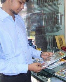 Comic store in Mumbai